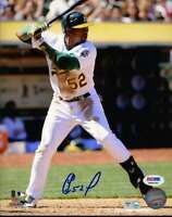 Yoenis Cespedes Psa/dna Coa Signed 8x10 Photo Authenticated Autograph