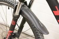 Bicycle Mountain Bike Front & Rear Mudguard Set Flexible PVC Plastic Cycling