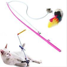 Bell Wand Feather Cat Teaser Play Mouse Pet  Cat Toy Set Kitten Set
