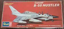 Very rare Revell Convair B-58 Hustler Model Kit