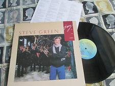 Steve Green JOY TO THE WORLD  Birdwing WINGR 532 Vinyl LP Album