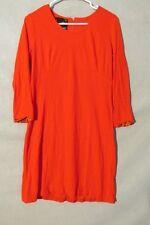 V7144 Somni Red Cotton Union Made Vintage Go-Go 60's Dress Women's M