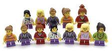 LEGO 12 NEW ASSORTED GIRLS WOMEN COLORFUL MINIFIGURES FIGURES KIDS GIRLS