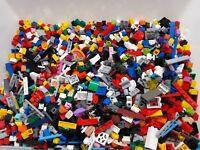 LEGO - 250g - 1/4 Kg Small Bricks Plates Cones Parts  Small Pieces Bundle Used
