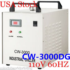 USA S&A!! Original 110V CW-3000DG Water Chiller for 60W/80W CO2  Laser Tube