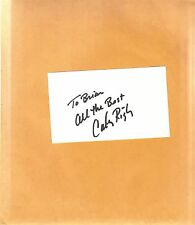 Cathy Rigby-signed photo-index card-9 - COA