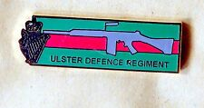 ulster defence regiment Enamel badge slr rifle northern ireland british army