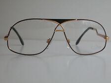 Cazal Vintage Eyeglasses - NOS - Model 737- col. 374- Gold, Black & Mauve