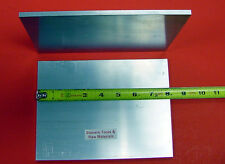 "2 Pieces 1/4"" X 6"" ALUMINUM 6061 FLAT BAR 8"" long .250"" T6511 Plate Mill Stock"