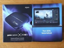 ELGATO GAME CAPTURE HD60S FOR PS4, XBOX ONE, Wii U, TWITCH, YOUTUBE - 1080P60