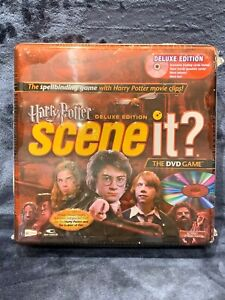 Harry Potter Scene It? Deluxe Edition DVD Game Collectible Tin Brand NEW Sealed