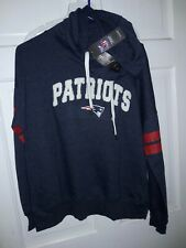 New England Patriots football Hooded Sweatshirt NFL apparel Hood Shirt Juniors L