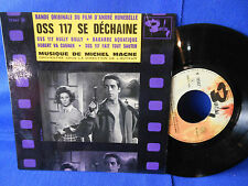 MICHEL MAGNE oss 117 hully gully EP 70547 EXC- LANGUETTE