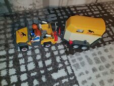 Playmobil Pferdetransporter (3249) (horse Carrier with a horse trailer)