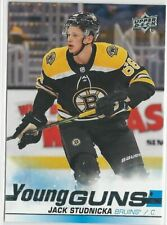 2019/20 JACK STUDNICKA UPPER DECK YOUNG GUNS ROOKIE CARD #473