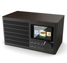 Majority Internet WiFi Internet Radio Dual Alarm Clock USB MP3 Play AUX In