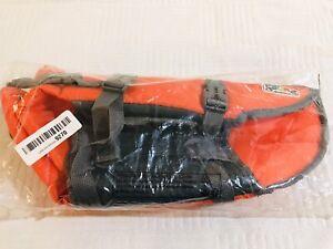NEW Outward Hound Granby Splash Dog Life Jacket, Orange, Small