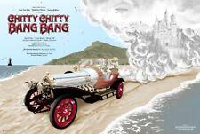 CHITTY CHITTY BANG BANG by Tom Miatke 24x36 Movie Poster Mondo Art Print Film
