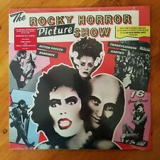 THE ROCKY HORROR PICTURE SHOW-RED VINYL LP-SEALED-ODE RECORDS-c1985-TIM CURRY
