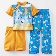 Disney Frozen Olaf 3-pc Spring Summer Pajama Set Size 6 $36 RV