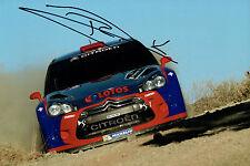 Robert KUBICA SIGNED AUTOGRAPH 12x8 CITROEN Polish WRC FIA Photo AFTAL COA