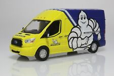 2019 Ford Transit Michelin Tire Delivery Work Van 1:64 Scale Diecast Model Truck