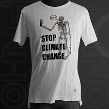 VIVIENNE WESTWOOD MAN JAPAN CHEST 38.5 CLIMATE CHANGE T-SHIRT revolution skull