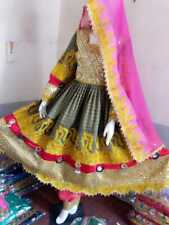 Traditional Afghan Kochi or Kuchi tribal dress in full Mirrors Malti -color.