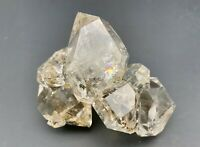 178 g Herkimer Diamond Gem Cluster, Enhydro w/ Moving Hydrocarbon, Record Keeper