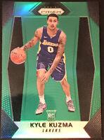 2017-18 Prizm Kyle Kuzma Green Prizm RC #283 LA Lakers