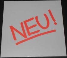 NEU! neu! EUROPE LP 2010 new sealed WHITE VINYL la dusseldorf HARMONIA 1st album