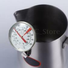 -10-100℃ Clip On Metal Dial Thermometer Gauge For Candle Soap Jam Food Making