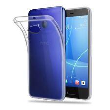for HTC U11 Life Transparent Clear Silicone Slim GEL Case