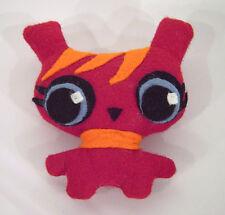 Monster Hanna Hase Kuschel rot Spielzeug Puppe Kind Geschenk Deko Handarbeit