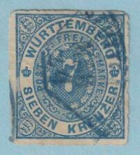GERMAN STATES - WURTTEMBERG 50  USED - NO FAULTS  EXTRA FINE!