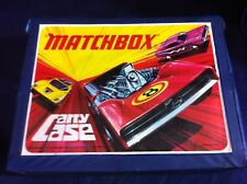Matchbox car carry case with, Majorette, Corgi and Matchbox vehicles ##WBRu59JM