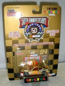 1:64 1998 RACING CHAMPIONS #94 MCDONALDS TOYS R US GOLD ANNIVERSARY BILL ELLIOTT