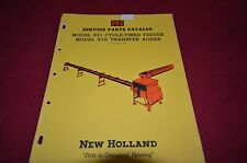 New Holland 571 Feeder 575 Auger Dealer's Parts Book Manual RWPA