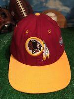 Rare Vintage Washington Redskin hat starter Cap Fitted 7 1/8 See Photos h15