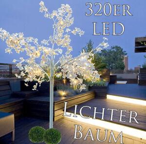 LED Leuchtbaum Ahorn Licherbaum Innen Außen Deko 2,5M Baum Lampen Lichterkette