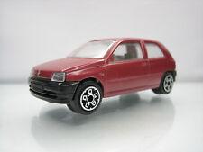Diecast Bburago Renault Clio 1/43 Red Good Condition