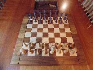 Modern Chess Set Indiana Vintage Chess For Sale In Stock Ebay