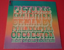 Pictures At An Exhibition Ormandy Philadelphia Orch Night On Bald Mountain LP