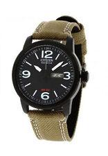 Runde Armbanduhren mit Armband aus echtem Leder für Erwachsene