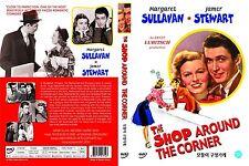 The Shop Around The Corner, 1940 (DVD,All,Sealed,New,Keep Case) James Stewart