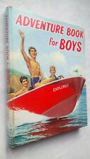 ADVENTURE BOOK  FOR  BOYS ANNUAL 1966 HB BW ILLUSTRATIONS EDGAR GARRETT M PARKER