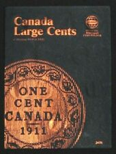 Whitman Canada Large One Cent Penny Folder Album Book 1858 - 1920