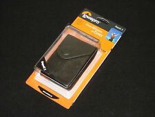 Lowepro Napoli 5 Genuine Leather Compact Camera Case (Black) - New with Tags