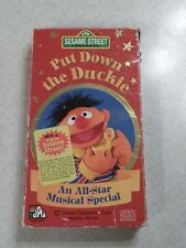 Sesame Street - Put Down the Duckie (VHS, 1996)
