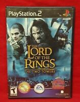 Lord of the Rings: The Two Towers  PS2 Playstation 2 Game Working Complete